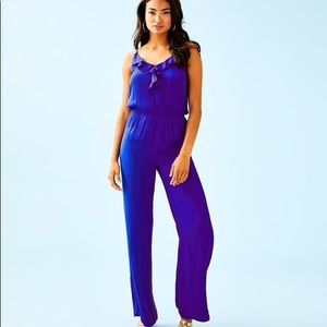 Lilly Pulitzer Royal Blue Jumpsuit